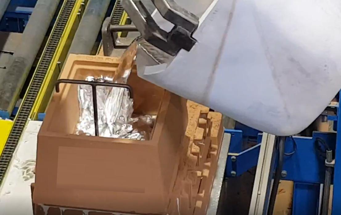 Automated melting process