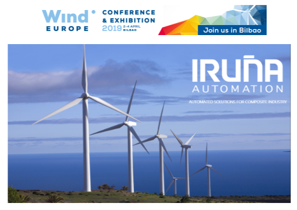 IRUÑA AUTOMATION IN WIND EUROPE EXIBHITION