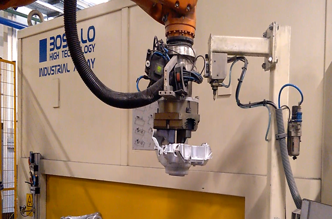 Traceability in casting parts