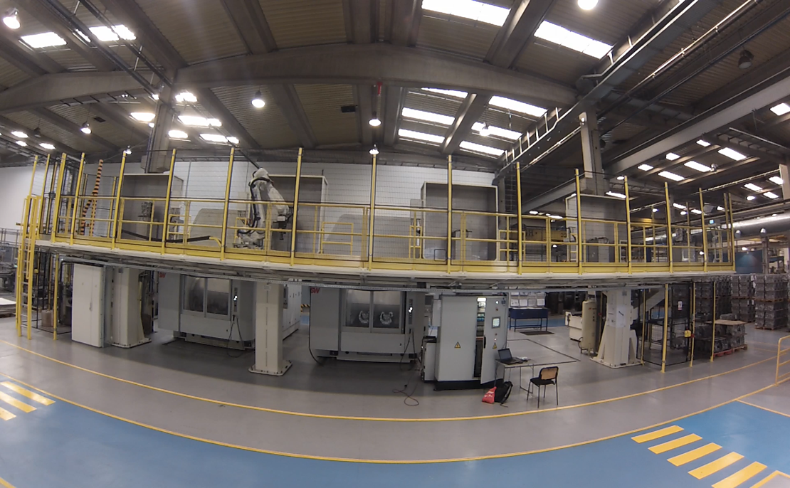 Automated machining lines