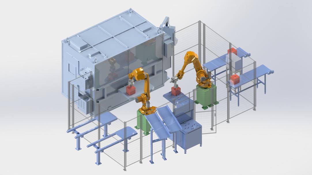 Robotización de operaciones manuales