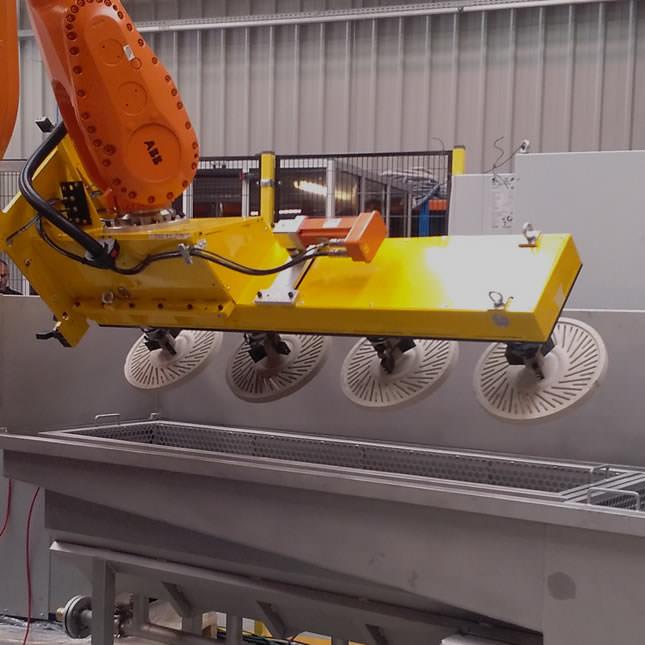 Automatización de procesos en fundición